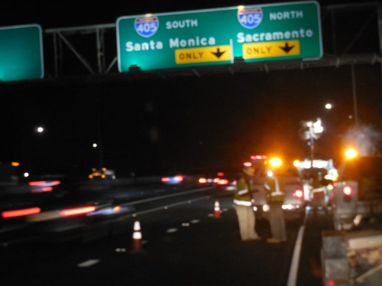 JMM conducts work zone audits in Los Angeles, CA