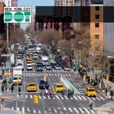 JMMA to develop Temporary Traffic Control Field Manual for the New York City Department of Transportation.
